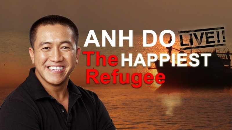 Ahn Do 'The Happiest Refugee – Live!' at the Cairns Dinner Theatre