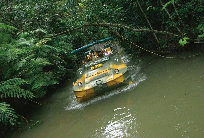 Try the Army Duck Rainforest Tour