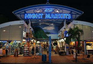 Browse through the Cairns Night Markets
