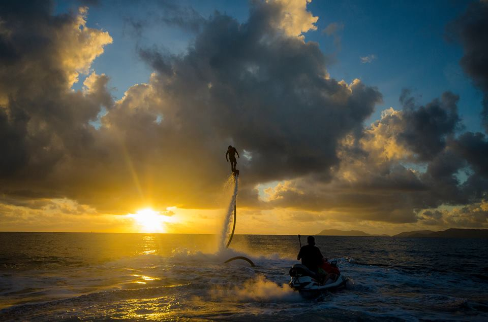 See the World From A New Perspective with Flyboard Cairns!